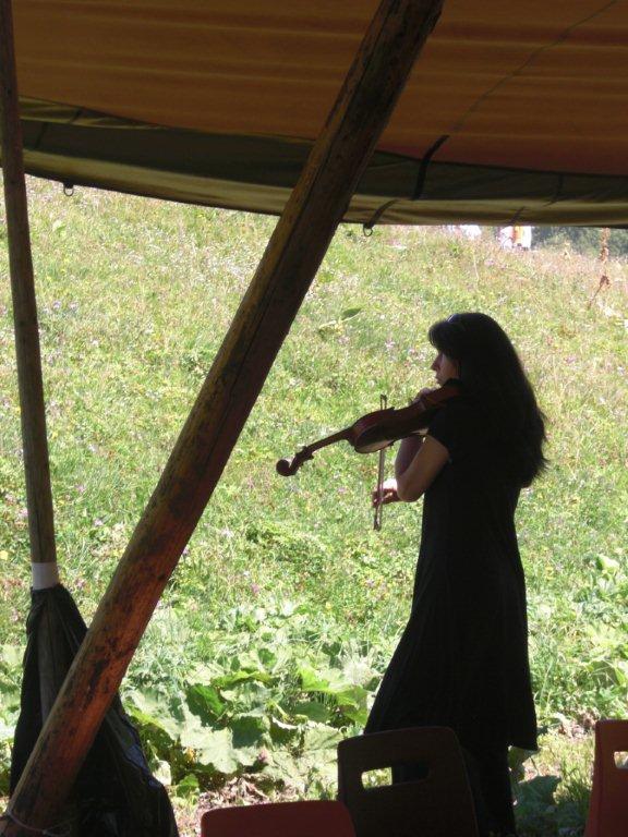 Roselend août 2011