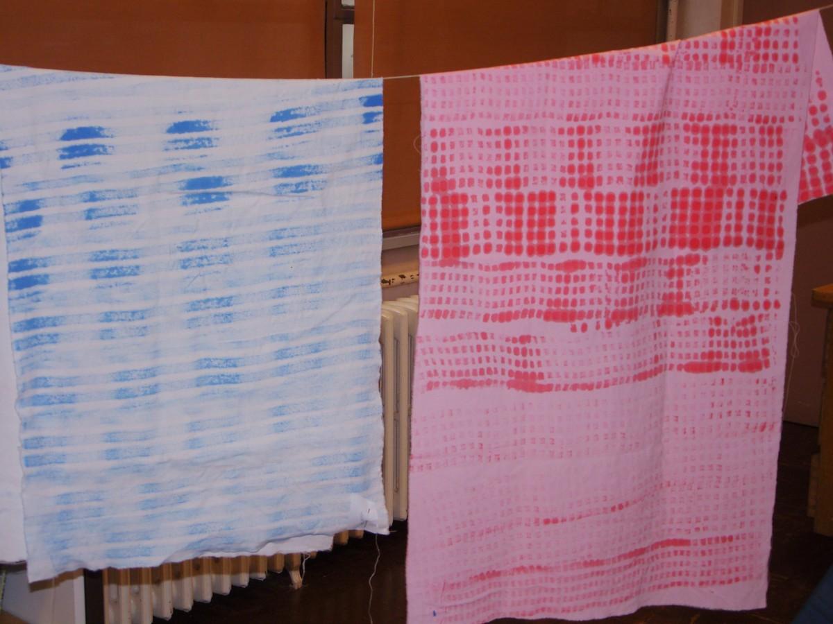 Impressions sur tissus, 2010